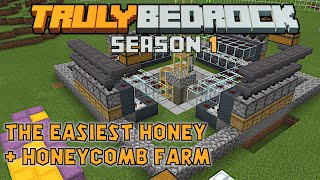 This honey and honeycomb farm is too simple. Truly Bedrock s1ep49