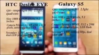 HTC Desire EYE VS. Samsung Galaxy S5 - Speed test