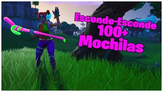 SHOWING SKIN HIDE AND SEEK & 100 + BACKPACKS | FORTNITE