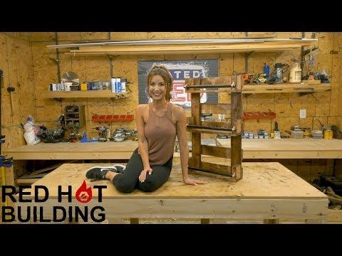 Whiskey Bottle Rack | Red Hot Building