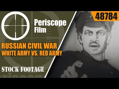RUSSIAN CIVIL WAR  WHITE ARMY vs. RED ARMY  1919  ANTON DENIKIN  48784