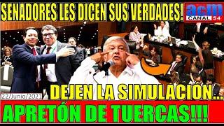 MONREAL Y DELGADO NO ESPERBAN ESTO!!! SENADORES RECLAMAN SE DEJEN DE GRILLAS Y TRABAJEN CON AMLO!!!