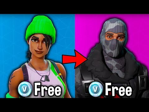 how to get items in fortnite for free