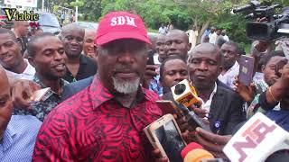 NASS Invasion : Dino Reacts, Blasts Buhari;s Greedy Cabinet