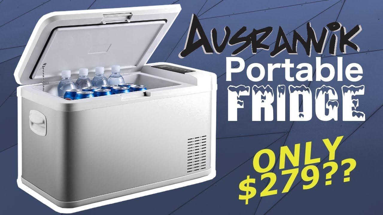 UNBOXING: Ausranvik 26 Quart Portable 12V DC Refrigerator [AMAZING VALUE!!]