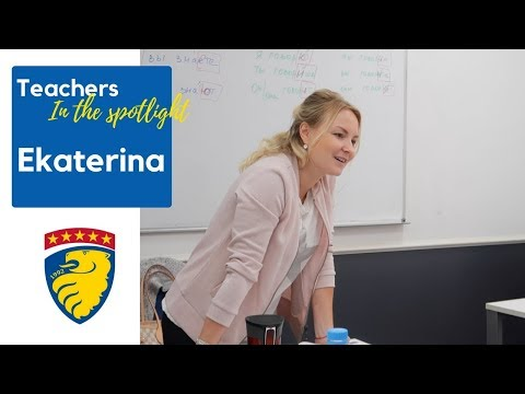Ekaterina - Teachers In The Spotlight - Liden & Denz