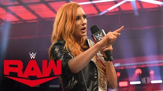 Becky Lynch aims to prove Shayna Baszler's life is a lie: Raw, March 16, 2020