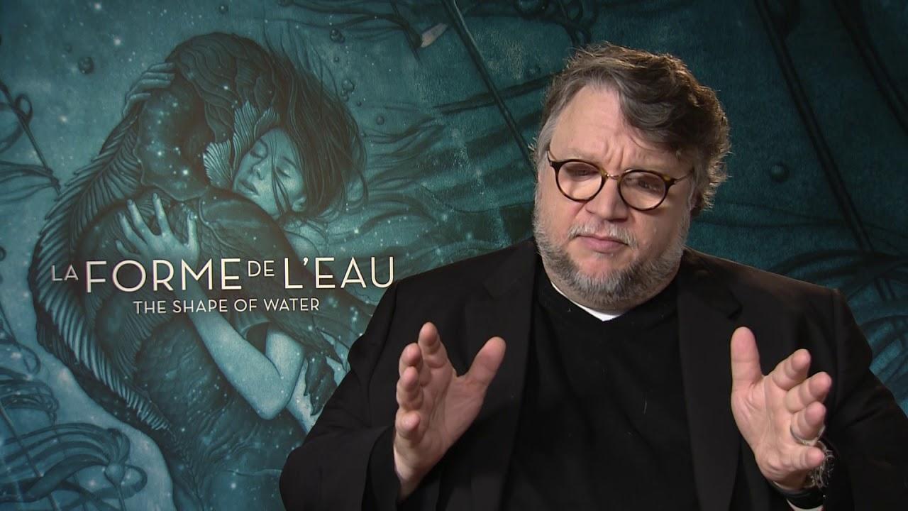 Guilhermo Del Toro regarding la forme de l'eau, la javanaise et trollhunters - l'interview