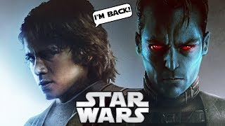 NEW! ANAKIN RETURNS IN CANON TO MEET THRAWN!!! (CANON) - Star Wars Explained