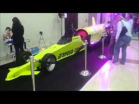 Dragster -  Yellow Jet Car - Jim Jet Neilson