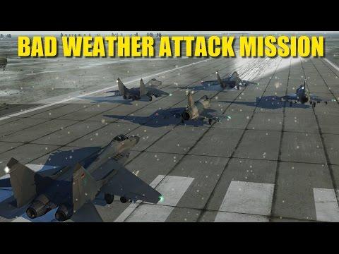 5-ship Squad Attack Radar Installation   Mirage 2000 Mig-29   DCS