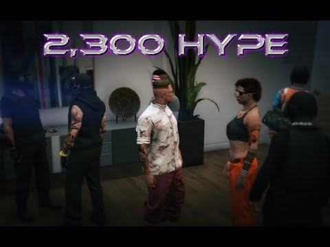 (GTA 5) 2,300 HYPE CAN WE GET THERE