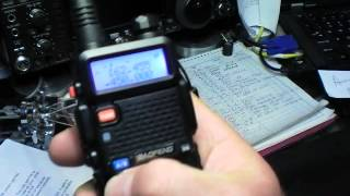 Baofeng UV-5R Review and Set-Up(Baofeng UV-5R Review and Operation By AB5N - www.7000mic.com I'm the guy who does the IC-7000 mic upgrades., 2012-04-26T18:22:08.000Z)