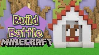 Minecraft Build Battle - CASINHA DO TCHUCO TCHUCO