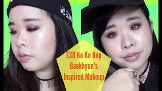 Video EXO KO KO BOP Baekhyun's Inspired Makeup download MP3, 3GP, MP4, WEBM, AVI, FLV Agustus 2018