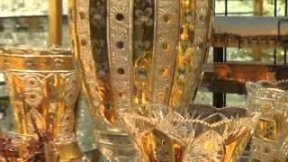 Prague 2013. Traditional Czech Glass.