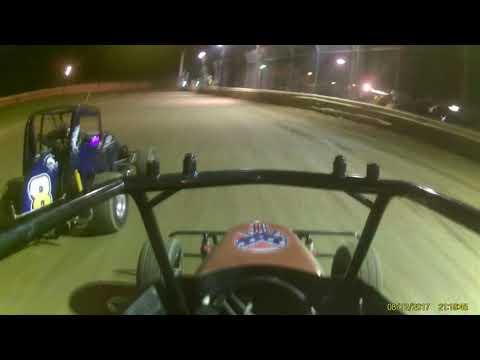 Deerfield Raceway Nathaniel '01' jr sprint 8 12 17 feature part 2