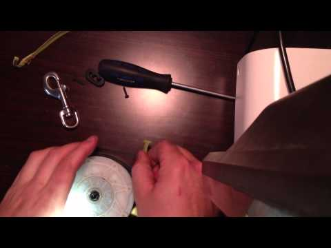 How To: Retractable Flexi Dog Leash Dismantle and repair