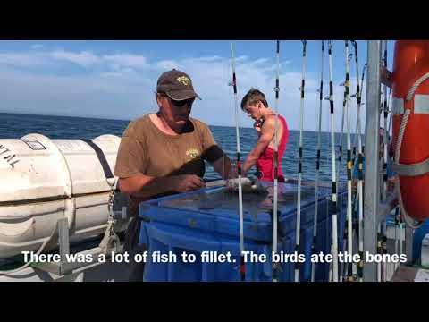 Prince Edward Island Part 4: Deep Sea Fishing Trip/ Mackerel Fishing/ Cod Fishing