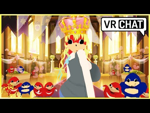 VRChat   The KNUCKLES QUEEN!