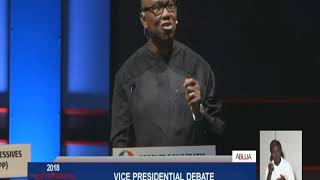 Vice Presidential Candidate Debate - Part 4