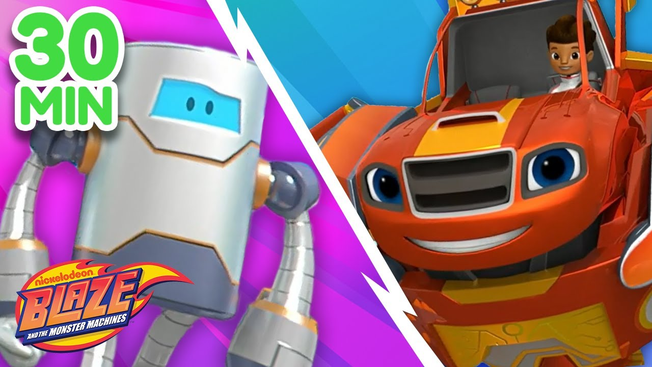 Download Blaze Vs. The Robots Compilation! | Blaze and the Monster Machines