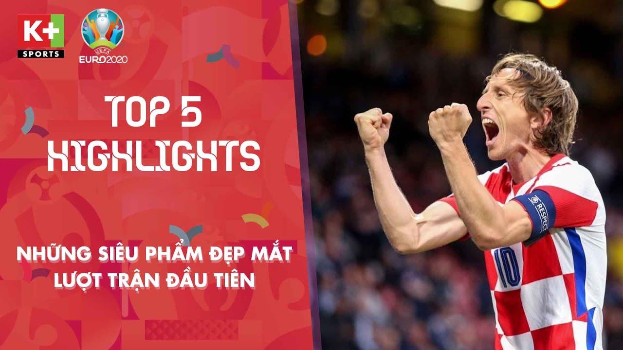TOP 5 BÀN THẮNG ĐẸP - LƯỢT TRẬN THỨ 3 VÒNG BẢNG   EURO 2020