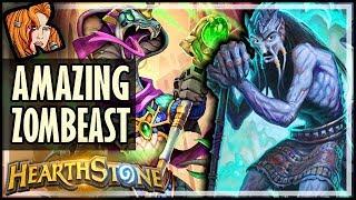 BEST ZOMBEAST IN THE UNIVERSE #2 - Dalaran Heist - Rise of Shadows Hearthstone