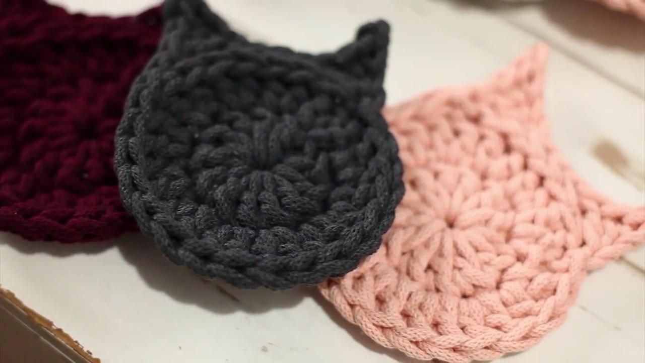 0dcd7519a504c Na szydełku #8 Kot - łatwy wzór dla początkujących | Cat crochet tutorial -  very easy