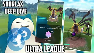 Snorlax Deep Dive for PVP Ultra League In Pokemon Go!