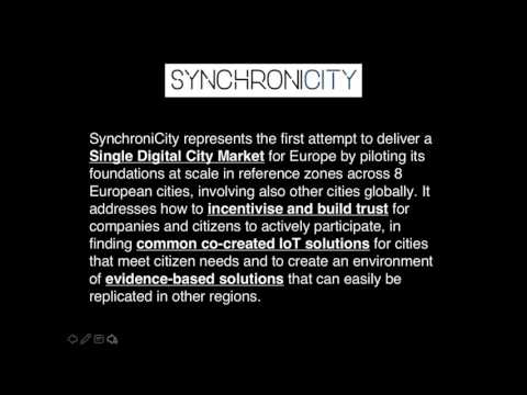 SynchroniCity webinar open call comms agency