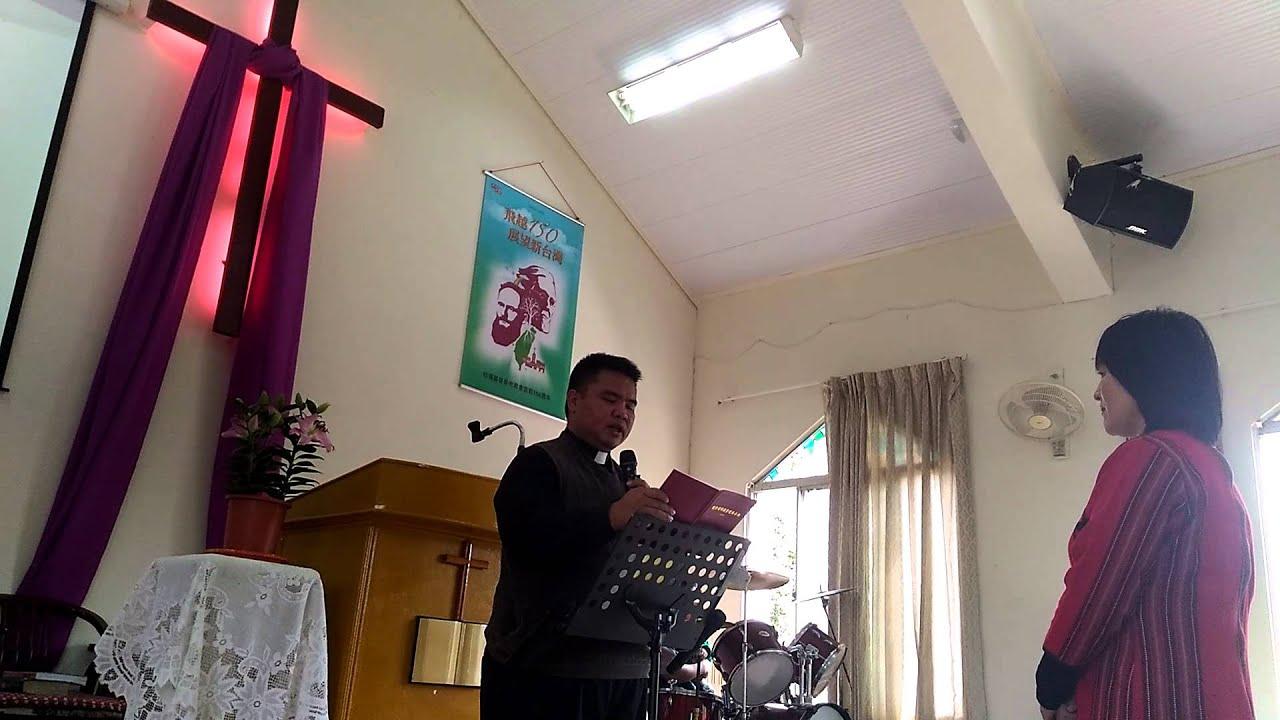 楓農教會谷秋香長老就職典禮「禱...