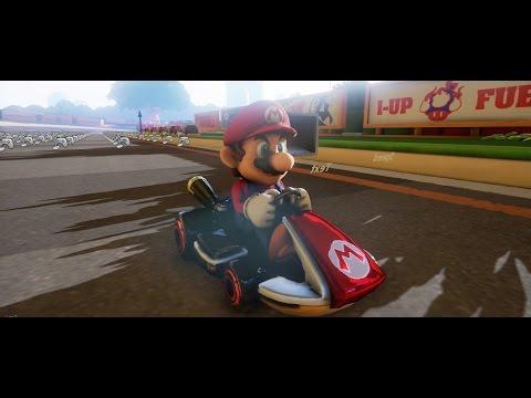 Unreal Engine 4 [4.9.2] Mario Kart + Multiplayer [Work in Progress]