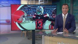 Report: Officer won't press charges against Cleveland Browns WR Odell Beckham Jr. for butt slap
