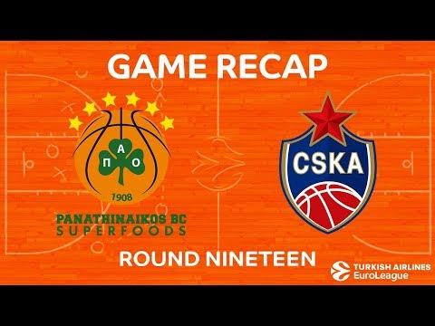 Highlights: Panathinaikos Superfoods Athens - CSKA Moscow