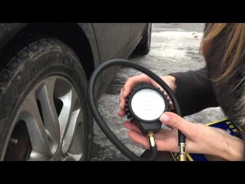 Манометр для проверки давления в колесе - СВОИМИ СИЛАМИ