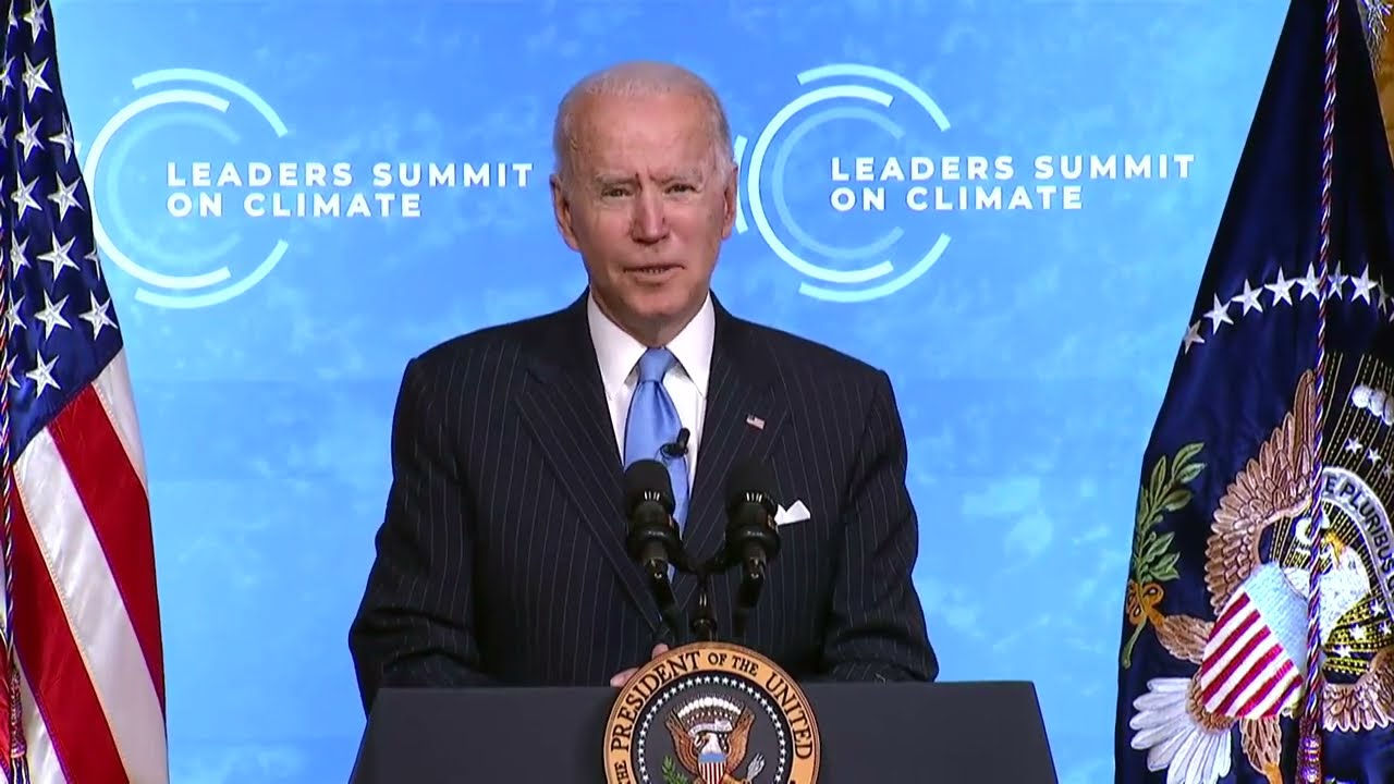 President Biden Delivers Closing Remarks at the Leaders Summit on Climate