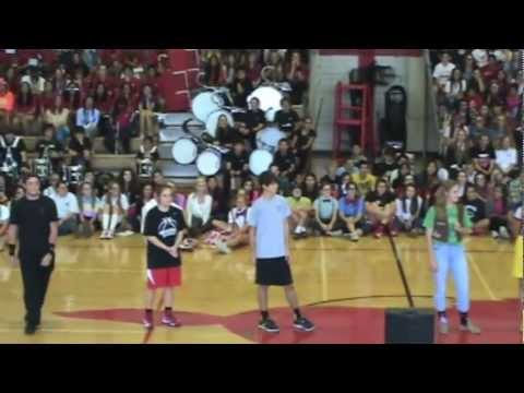 SB Memorial High School's Seven Lakes Pep Rally 11-2-12