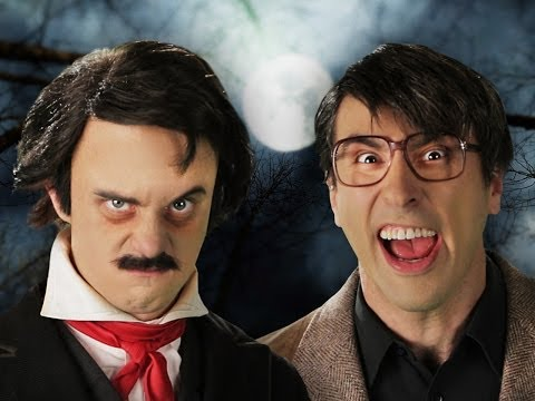 Видео: Stephen King vs Edgar Allan Poe. Epic Rap Battles of History Season 3