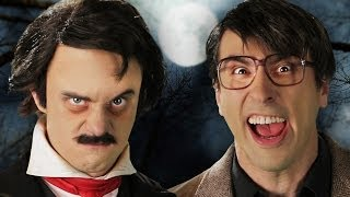 Repeat youtube video Stephen King vs Edgar Allan Poe. Epic Rap Battles of History Season 3.