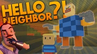 WE RDEST HELLO NE GHBOR FAN GAMES  R POFFS  Lets Play Hello Neighbor  Hello Neigbour Fan Games