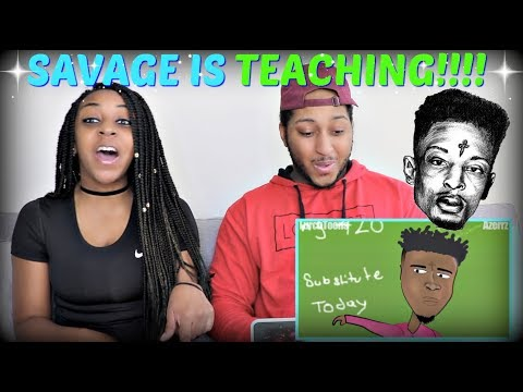 21 Savage - Issa Lesson   Parody (Music Video) By Azerrz REACTION!!!