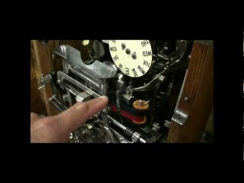 International Time Recorder Clock ITR Restoration Operation