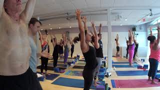 90 Minute Yoga Class With Brandon Compagnone LIVE From Baptiste Power Yoga Boston