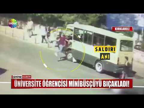 Üniversite öğrencisi Minibüsçüyü Bıçakladı!