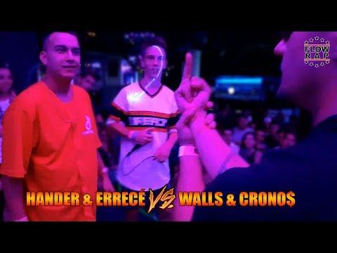 WALLS & CRONOS vs HANDER & ERRECÉ - Batalla de Exhibición - FlowRap Valencia (OFICIAL)