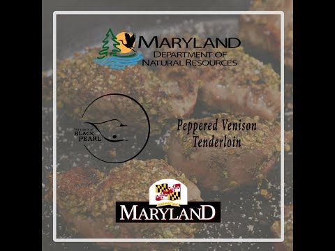 Peppered Venison Tenderloin - Maryland Department Of Natural Resources