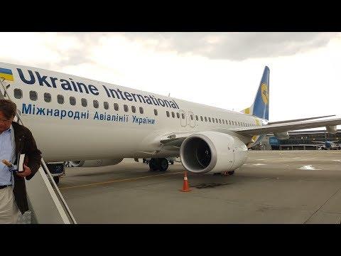 FLIGHT REPORT | Kyiv-Amsterdam | Ukraine International Airlines (Economy) | Boeing 737-800