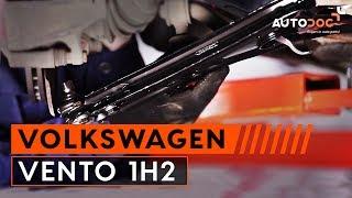 Hoe Achteraslager vervangen VW VENTO (1H2) - video gratis online