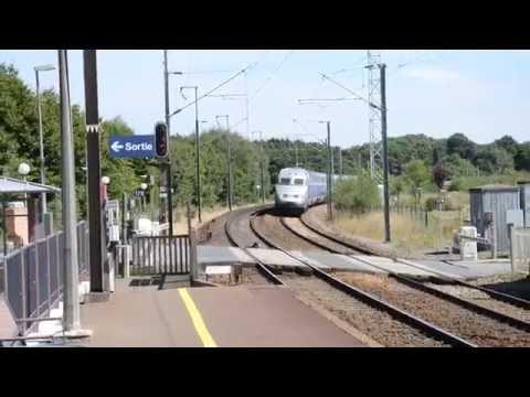 Croisement TGV Rennes - Paris Montparnasse & TGV Marseille Saint-Charles - Rennes